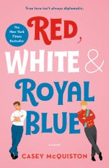 """""""Red, White & Royal Blue,"""" by Casey McQuiston."""