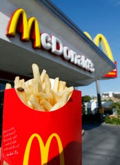 A 2010 photo of McDonald's french fries.