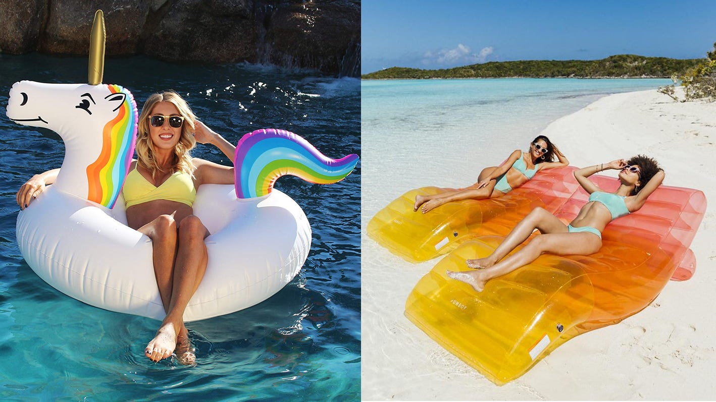 Inflatable Giant Pool Float Gift Idea For Adult Swing