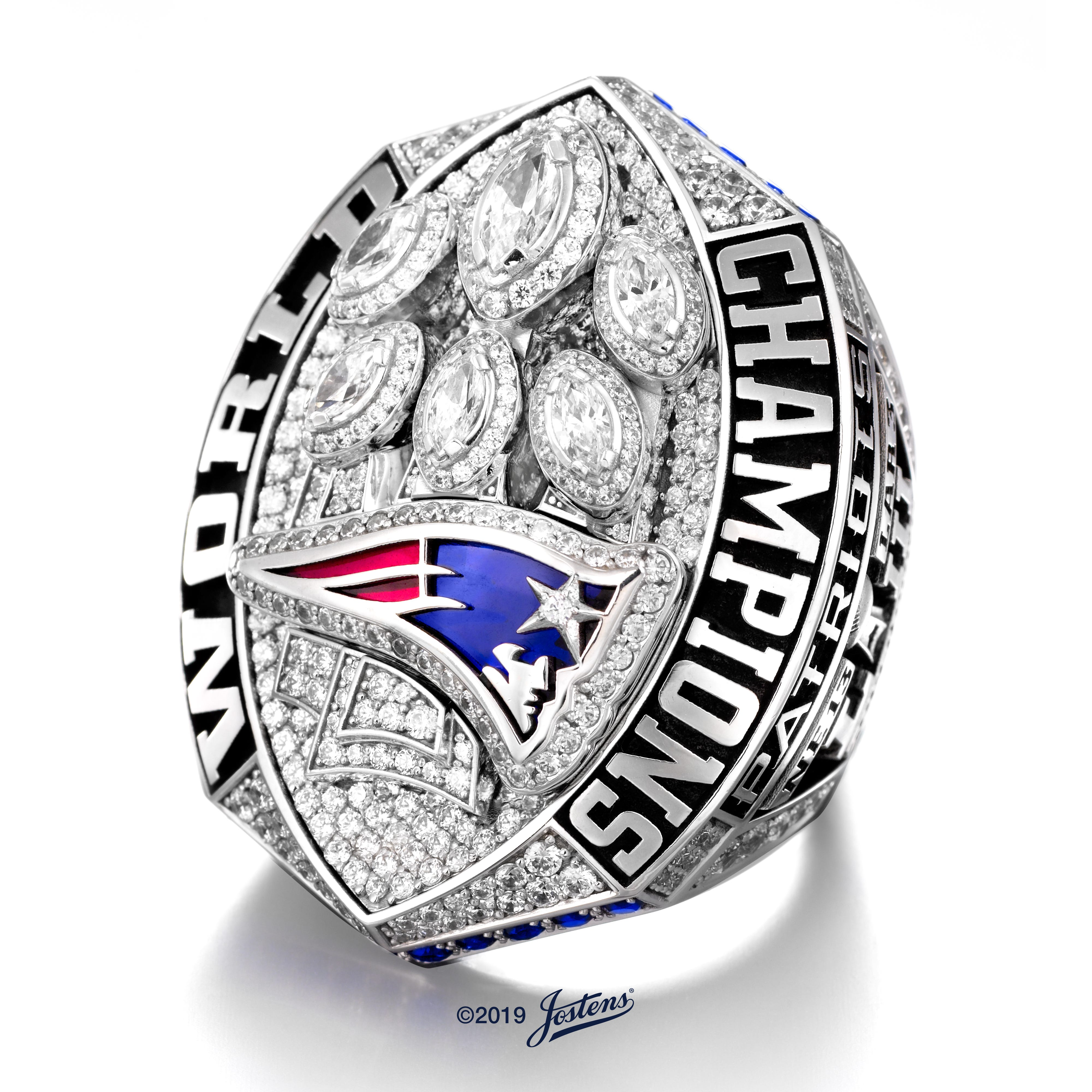 Bigger and better: New England Patriots unveil Super Bowl LIII ring, the largest in history