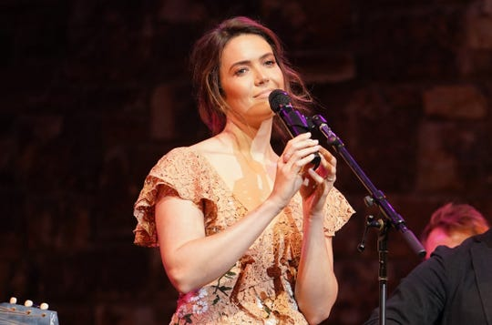 """Mandy Moore performs at 20th Century Fox Television and NBC Present """"This Is Us"""" FYC Event at John Anson Ford Amphitheatre on June 06, 2019 in Hollywood, California."""