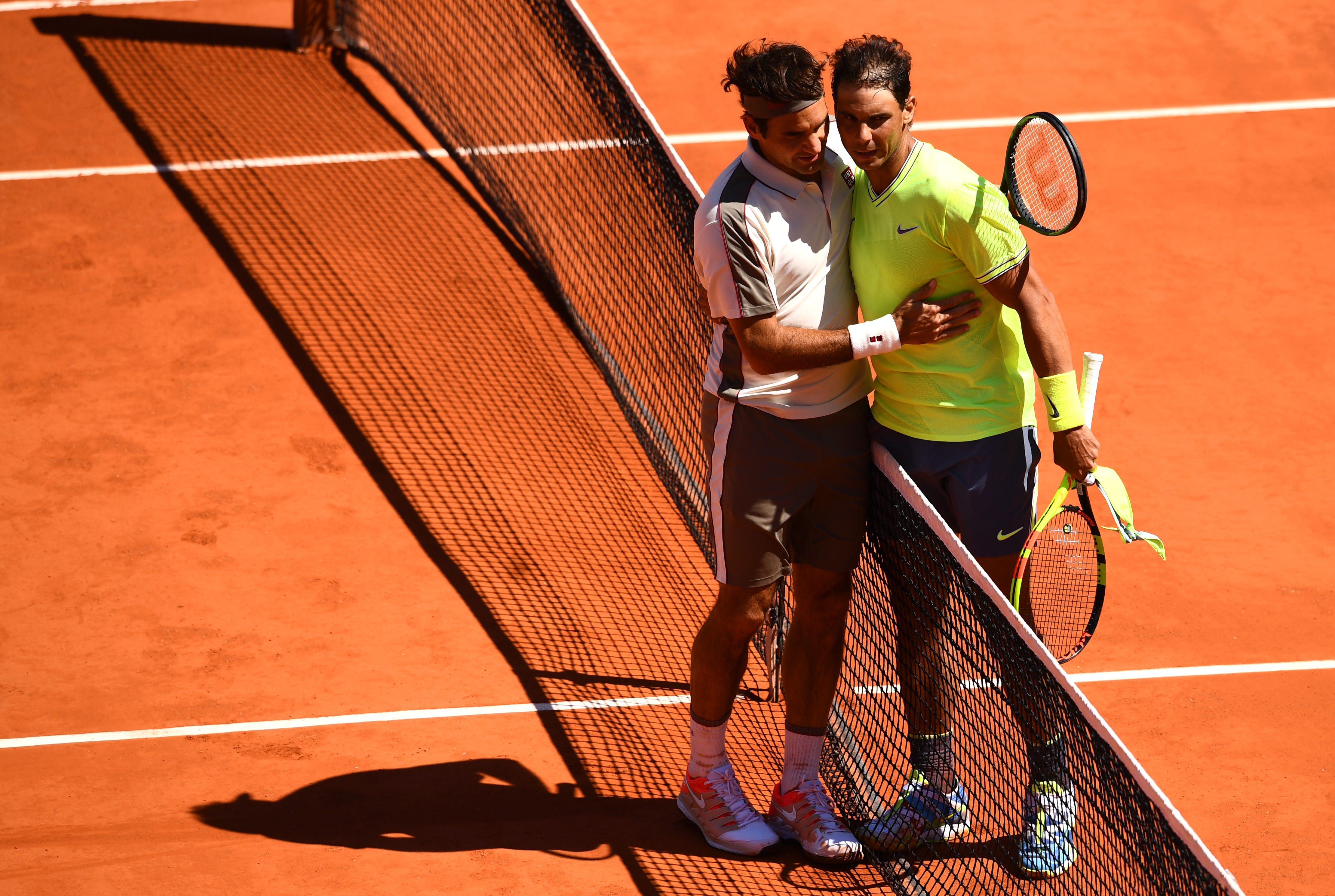 Rafael Nadal takes down Roger Federer in straight sets to reach French Open final