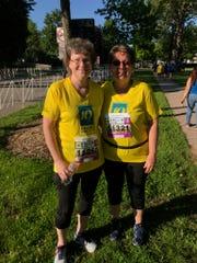 Denise Fonferek and Sharon Jansen