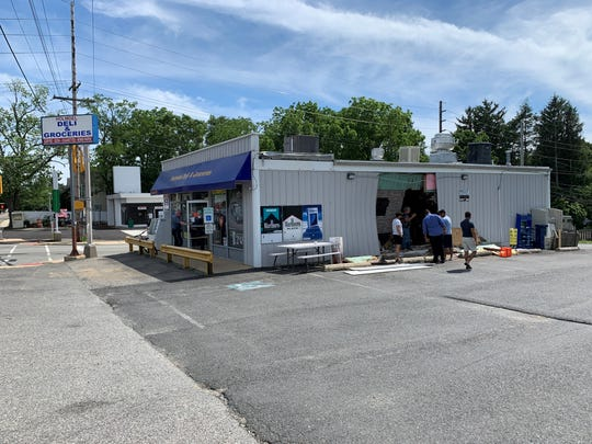 The scene at Holmdel Deli & Groceries on Bethany Road in Hazlet on Saturday, June 8, 2019.