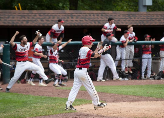 Emerson Boro defeats Glassboro with 8 run 7th inning come back in NJSIAA State Group 1 Baseball Championship in Hamilton, NJ on June 8, 2019.