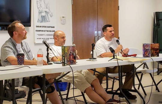 Jeffrey Shanks, Patrice Louinet, and Chris Gruber talk about Robert E. Howard's Sailor Steve Costigan, a comedic character in some of Howard's manifold pulp fiction writings.