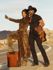 A Vegas Country Tribute featuring Tim McGraw and Shania Twain impersonators is on stage June 14 at The Point Casino in Kingston.