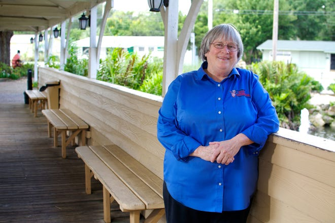 Laurilee Thompson of Mims, a member of the Tourist Development Council, is co-owner of Dixie Crossroads Seafood Restaurant in Titusville.