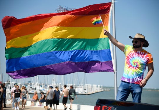 Corpus Christi hosts its third annual Pride parade, Saturday, June 8, 2019.