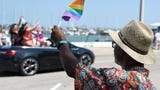Hundreds gathered in downtown Corpus Christi to celebrate the third annual Pride Parade and Block Party on Saturday, June 8, 2019.