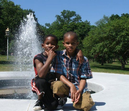 Bryce (left) and Cameron Jeff were 8 and 10 years old, respectively, when they drowned in a neighbor's pool. Cameron jumped in to try to help his brother.