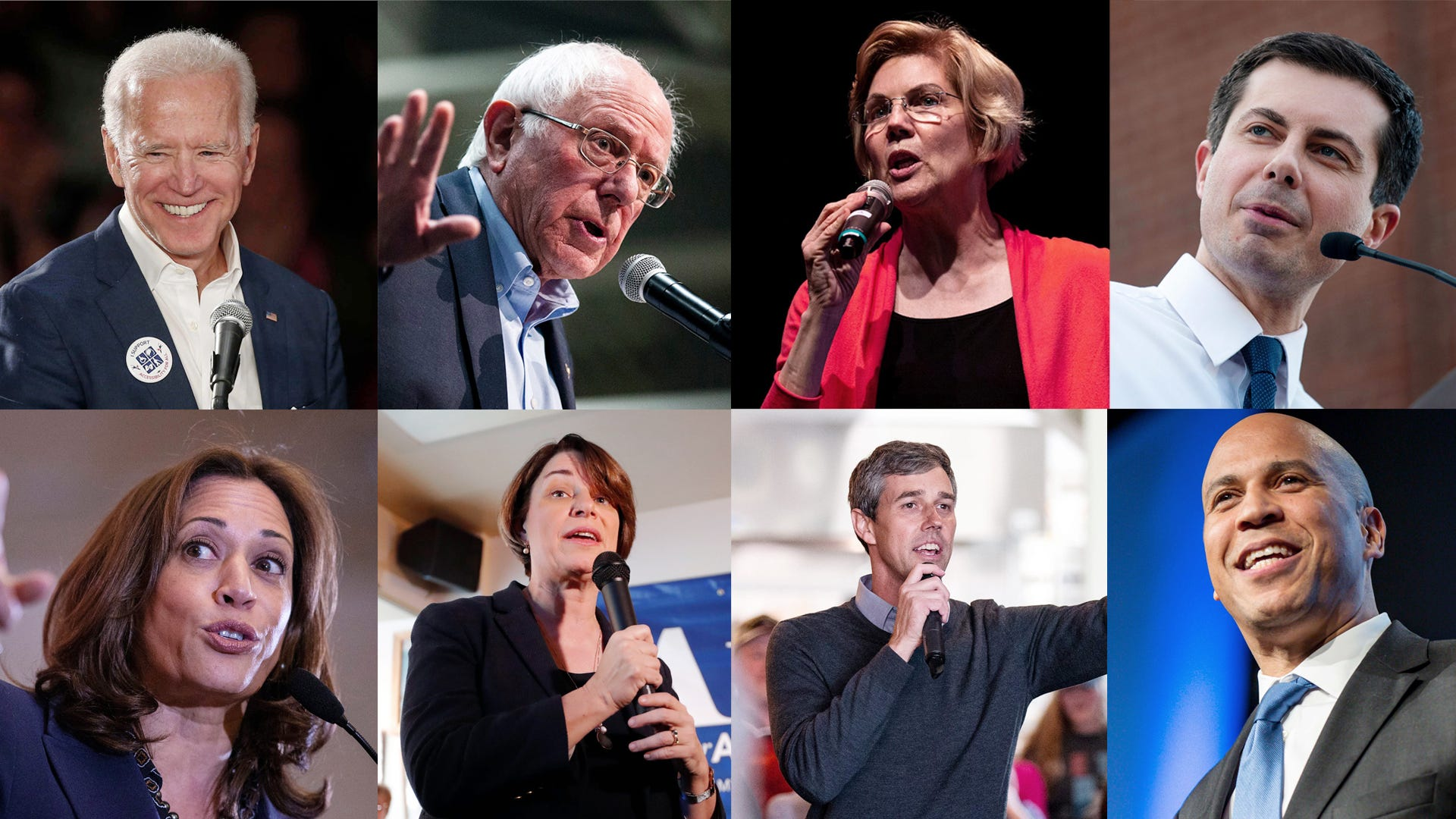 how many democratic candidates are there for 2020