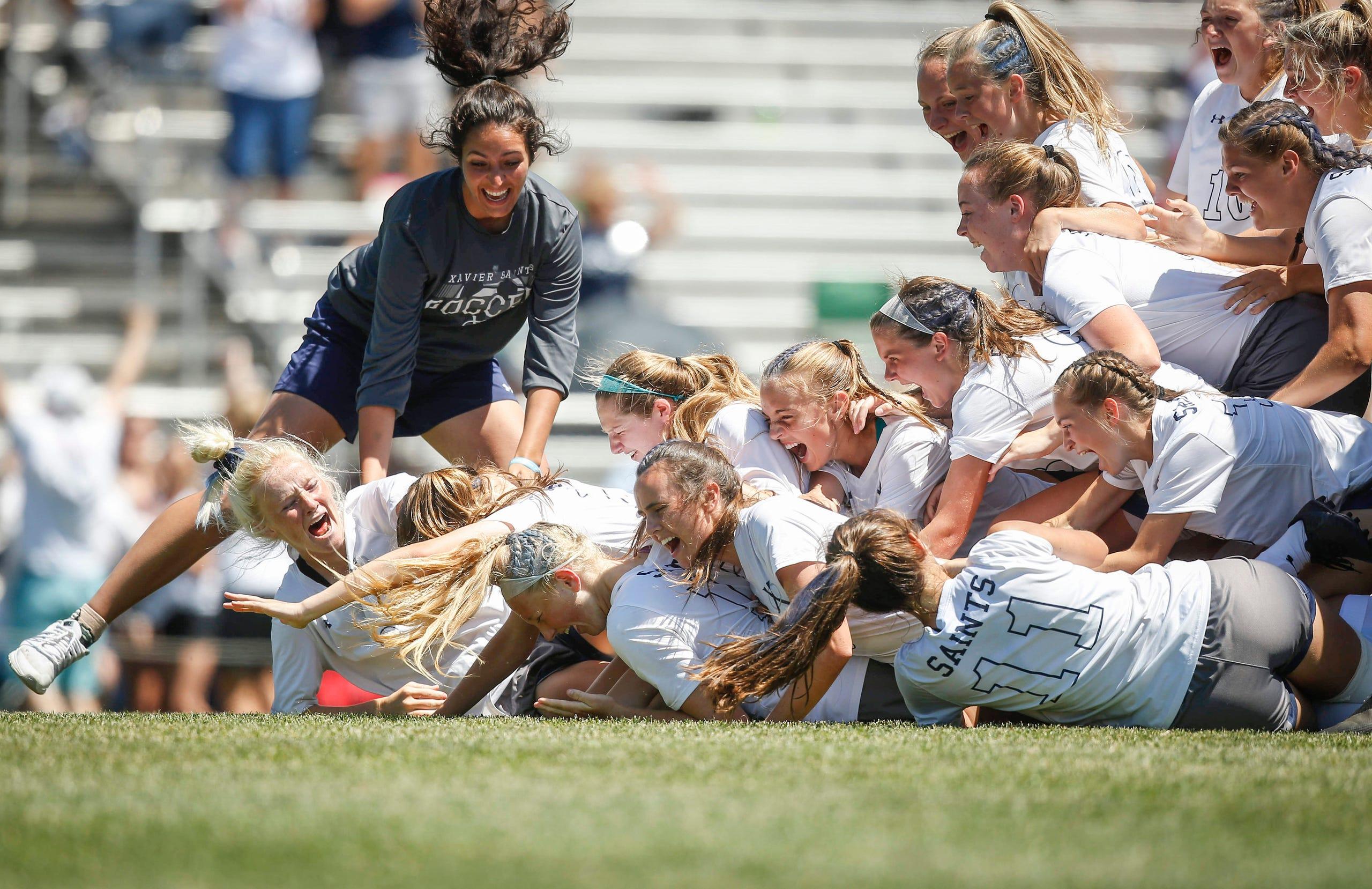 Photos: Cedar Rapids Xavier girls soccer wins Class 2A