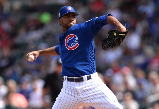 Duane Underwood Jr., has found new life to his career in the bullpen.