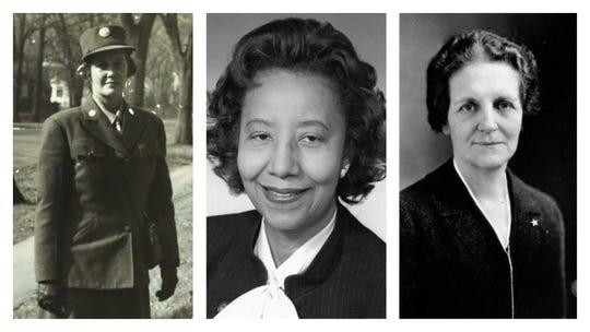 "Theresa ""Billee"" Davis, Willie Stevenson Glanton and Ola Babcock Miller, provided by Women Lead Change"