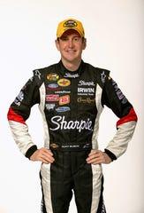 NASCAR driver Kurt Busch.