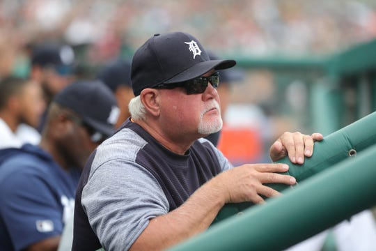 Ron Gardenhire during Saturday's win over the Twins.