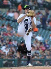 Detroit Tigers' Matthew Boyd pitches against the Minnesota Twins during the fourth inning Friday, June 7, 2019 at Comerica Park.