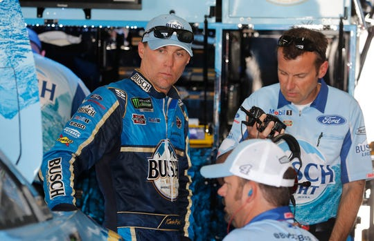 Kevin Harvick of Stewart-Haas Racing has five top-five finishes this year in the NASCAR Cup Series.