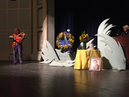 The memorial service for Jean Price, a former Montana lawmaker and educator, was held in the Great Falls High Auditorium on Saturday.