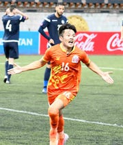 Tshering Dorji's first half strike was the difference as Bhutan beat Guam 1-0 in the first leg of FIFA World Cup Qatar 2022 and AFC Asian Cup 2023 Preliminary Joint Qualification June 6.