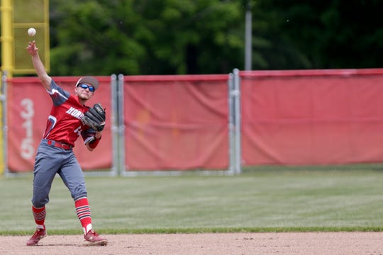 Dawson Jacoby was a three-sport athlete at Rossville, competing in tennis, basketball and baseball.