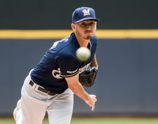 Zach Davies became the first starting pitcher in Brewers franchise history to start a season 7-0 with his gritty five-inning performance against the Pirates on June 8.