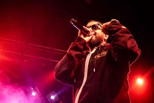 Rapper and singer Nav performed at the Rave on June 7, 2019.