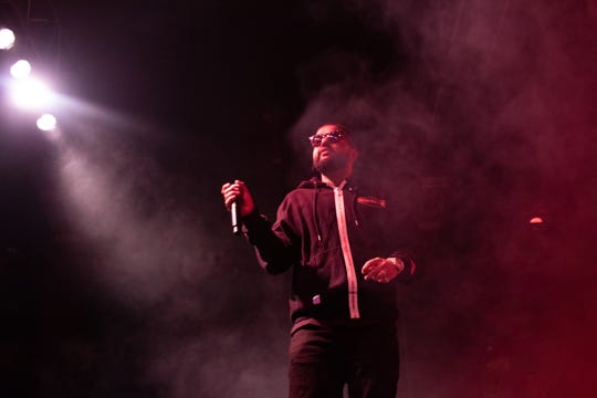 Rapper and singer Nav performs at the Rave on June 7, 2019.