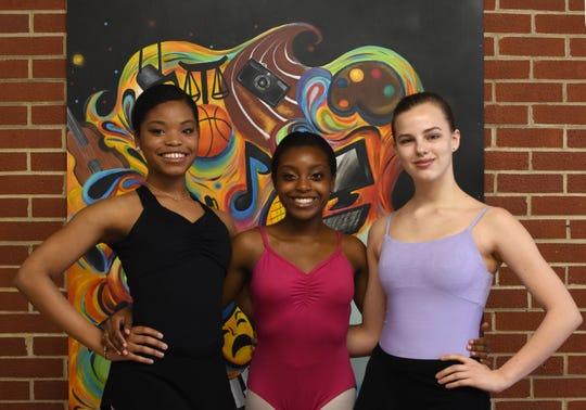 Booker T. Washington Magnet High School dance students Naomi Tyson, Ahsha Gray and Abigail Perkinson will soon travel to Pietrasanta, Italy.