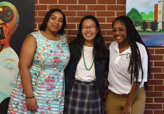 Booker T. Washington Magnet High School students Brianna Moore (creative writing), Yaelyn Ha and Zoe Davis (visual arts) will travel to Pietrasanta, Italy, in late June.