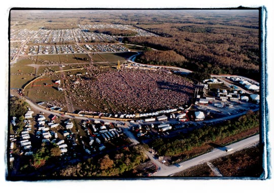 1999's Big Cypress was the largest of Phish's festivals, with an estimated 85,000 in attendance.