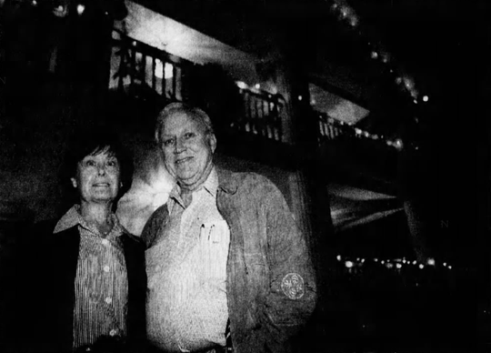 Vonna Jo and Ed Gregory in 1996.