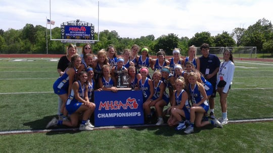 The Marian lacrosse team is the division 2 state runner-up.