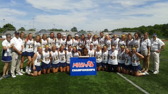 East Grand Rapids won the division 2 state lacrosse championship.