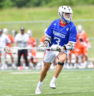 Catholic Central's Joseph Kamish scored six goals in the state championship game.