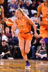 Phoenix Mercury rookie Sophie Cunningham has been tucking in her shorts since her early college days at Missouri.