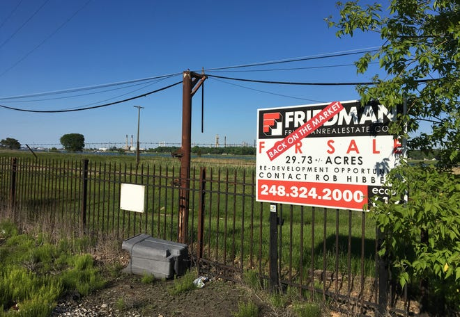 The site of the old Mighty Marysville, 301 Gratiot Blvd., on Friday, June 7, 2019.