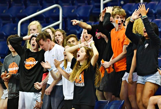 York Suburban vs Meadville during PIAA Class 2-A boys' volleyball championship action at Pegula Ice Arena in State College, Saturday, June 8, 2019. Dawn J. Sagert photo