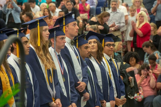 West York Area Senior High School held its graduation for nearly 200 seniors on Friday, June 7, 2019.