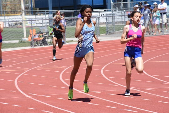 Dale Moss coached Reed sprinter Roxy Patterson, one of the fastest girls in the state.