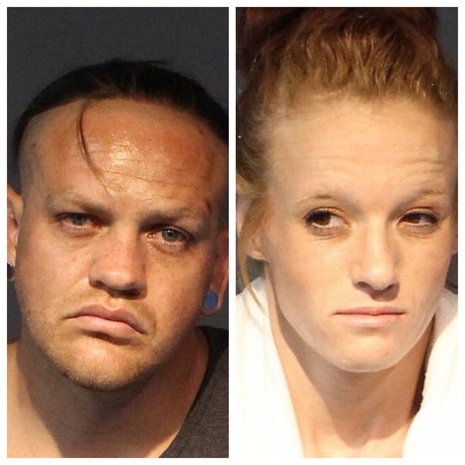 Joseph Doremus, 31, and Jessica Cummings, 26, were both booked into the Washoe County jail on June 7, 2019. They face charges related to evading and burglary.