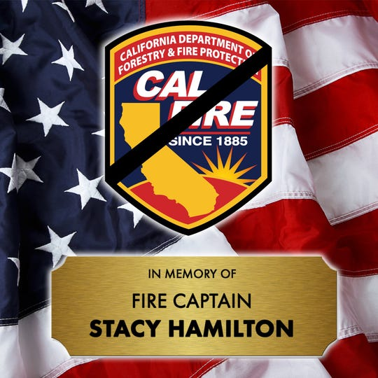 Cal Fire Capt. Stacy Hamilton died in an early-morning traffic crash in Merced County.