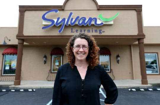 Kristen Fischer the new owner of Springfield's Sylvan Learning along with her husband, Chris, who is not pictured.