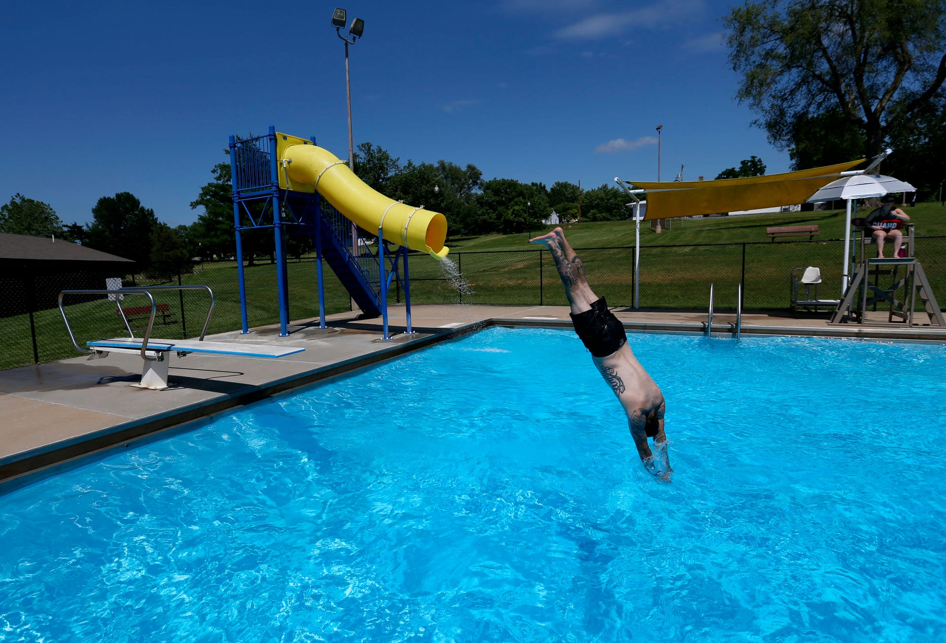 Springfield swimming pools are open. Here is info on hours ...