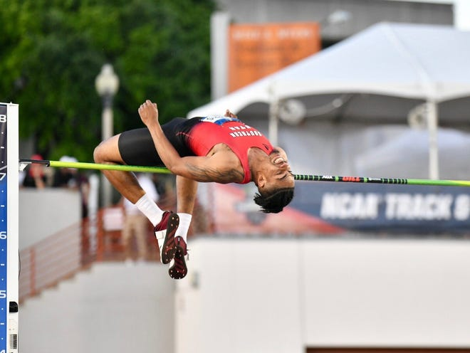 SUU's Frank Harris III claimed All-American status at the NCAA Track and Field Championships.