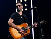 Eric Church performs during the 2019 CMA Fest Friday, June 7, 2019, at Nissan Stadium in Nashville, Tenn.