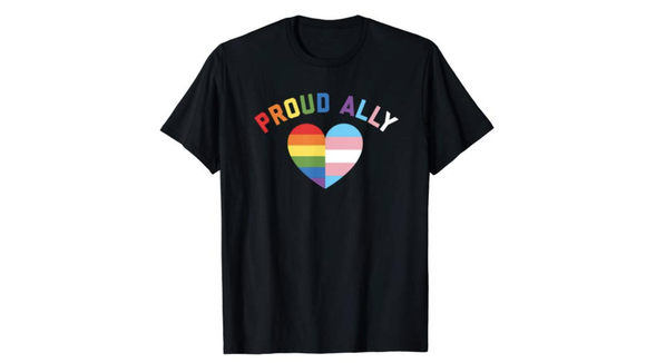 Even if you're not a member and just a supporter, you can still dress the part with this fun shirt.