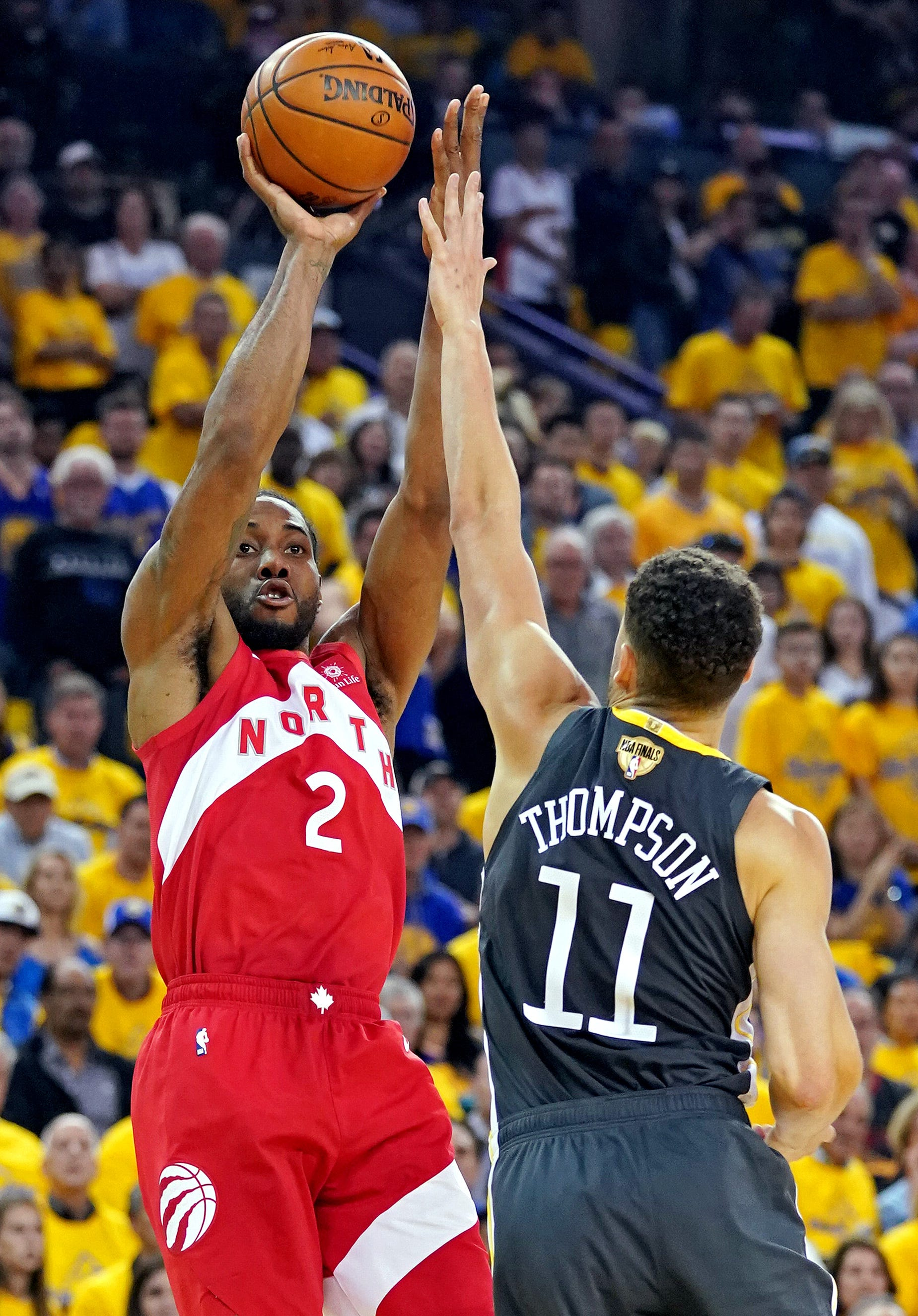 Kawhi Leonard shines as Raptors take commanding 3-1 lead on Warriors in NBA Finals