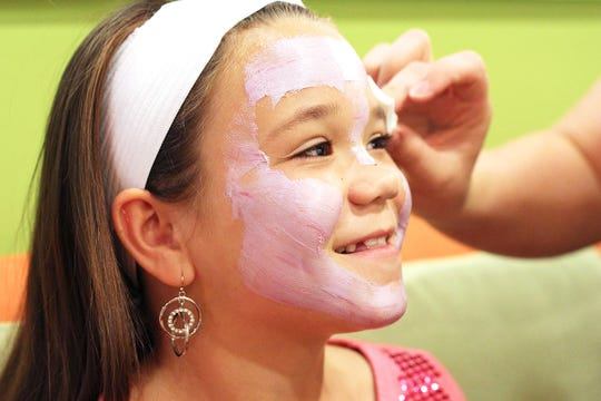 Little girls can choose from a big array of spa services at Sweet & Sassy, a salon and party venue that is bringing a location back to Cherry Hill.